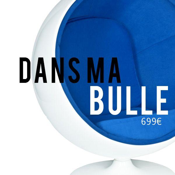 Évadez Vous Avec La Ball Chair Inspirée Par Eero Aarnio Découvrir Le  Produit : Meublesetdesign.