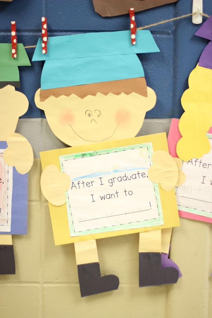 First Grade Blue Skies: Graduation Kid Craft and Kindergarten Freebies