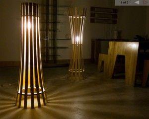 lamparas-de-pie-madera