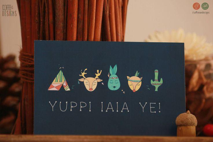 Poster Stampa Collezione YUPPI IAIA YE   Cartoline   Illustrazioni  Personalizzabile  Arreda la cameretta dei bambini   Neonato   Ragazzi di coffeeandesigns su Etsy