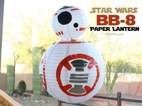 Star Wars BB-8 Paper Lantern | Desert Chica
