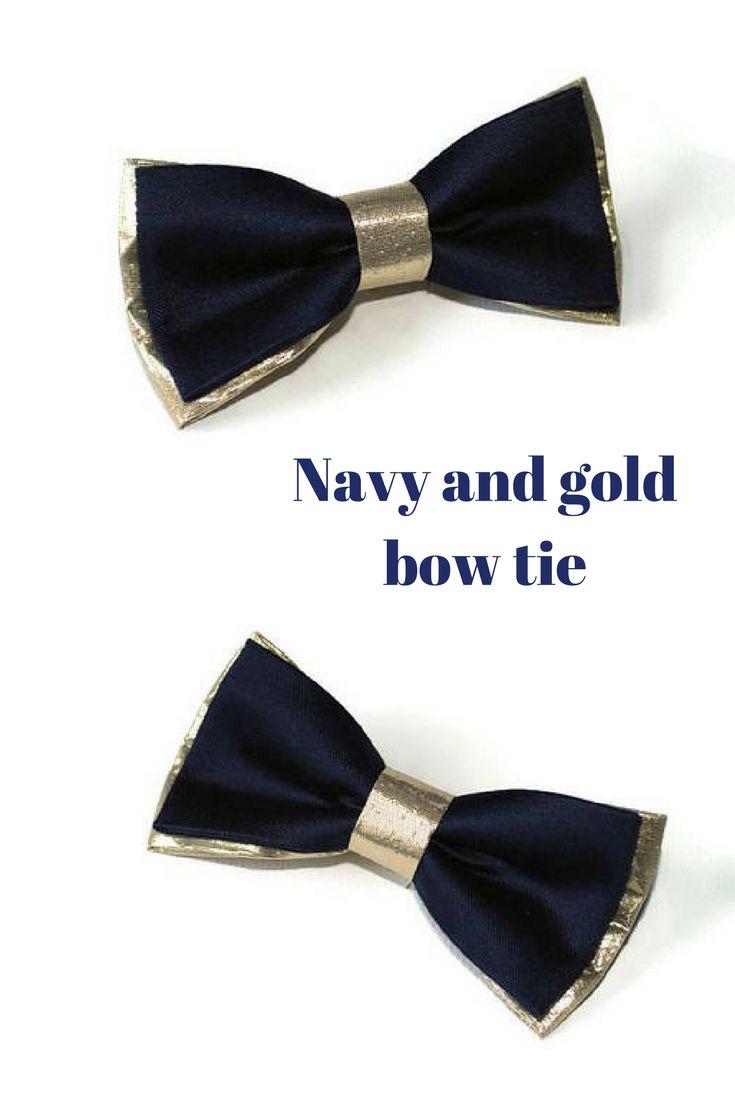 Best 25+ Gold bow tie ideas on Pinterest | Navy blue ...