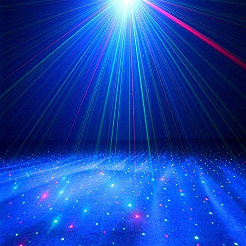 Amazon.com: Decolighting Laser Light Mini Stage Laser Lights, RG Laser Projector Light and RGB LED with Remote Control for Home Party Holidays Decoration Stage Disco DJ Laser Lighting: Musical Instruments