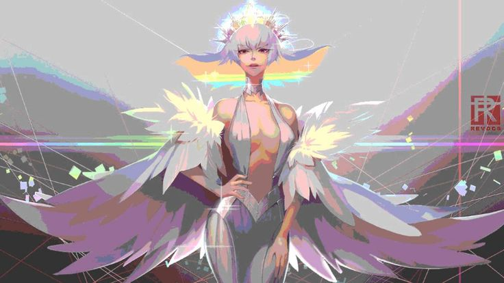 Ragyo may be crazy a crazy, power drunk, delusional, psychopath but her theme song hits me in all the right places