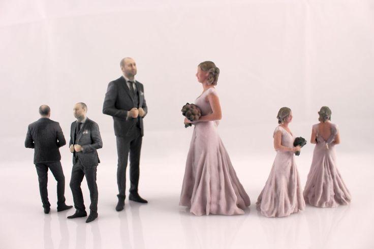 wedding  decoration 3d printed figurines / Στολισμός γάμου, στολισμός τούρτας, μινιατούρες αγαλματίδια γαμπρού νύφης