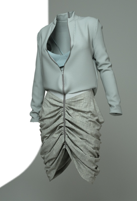 3D clothing and 3D fashion.  http://www.marvelousdesigner.com/