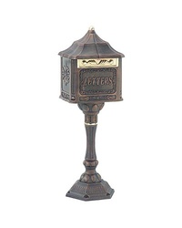 Mailboxes On Sale | Residential Mailboxes | Commercial Mailboxes-Colonial Pedestal Locking Mailboxes: Fireplace Shops, Colour, Locking Mailboxes, Commercial Mailboxes, Colonial Pedestal, Pedestal Mailbox, Residential Mailboxes, Patina Stone
