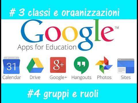 Videotutorial Google Sheets in italiano per insegnanti scuola primaria - YouTube