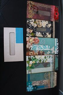 i enjoyed doing this envelope pages and what a fun way to use all my scraps for this.   this envelope was brilliantly thought of by tracy at...