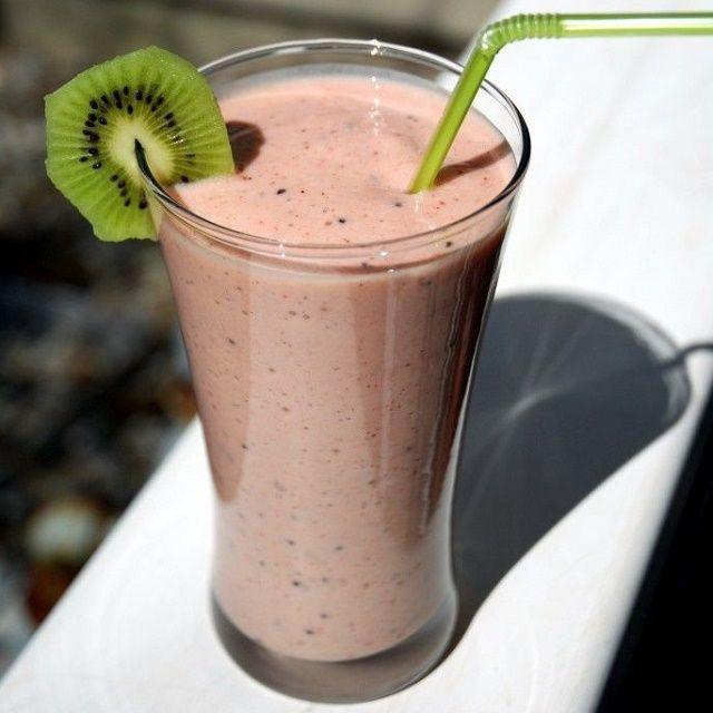 1000 ideas sobre batido de fresa y kiwi en pinterest - Batidos de kiwi ...