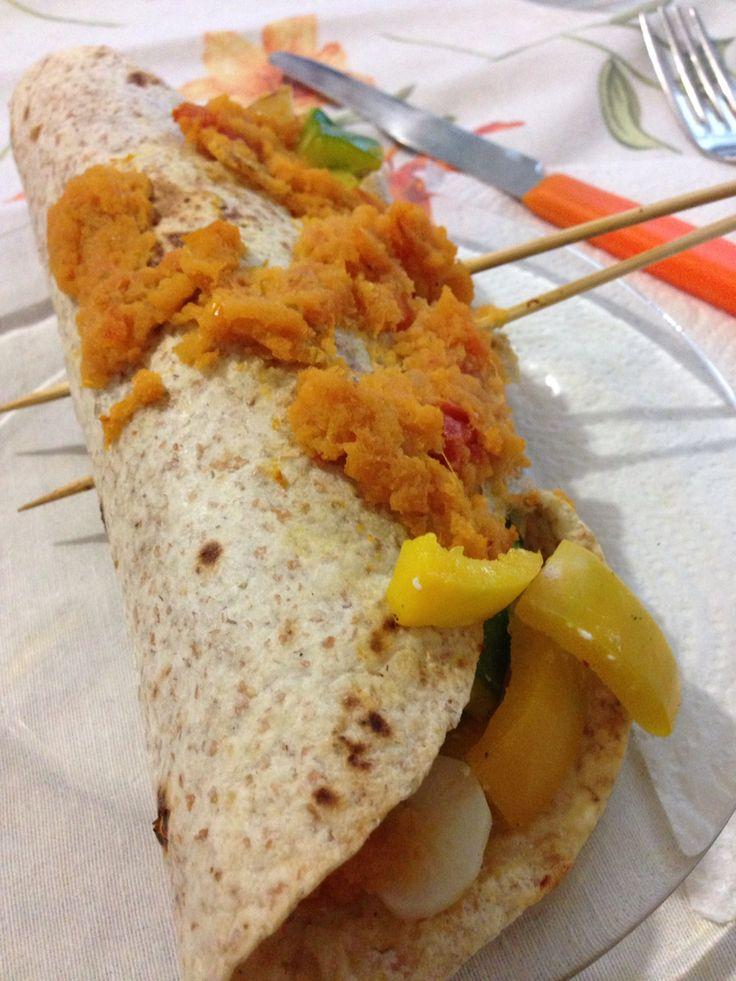 Enchilada di pollo
