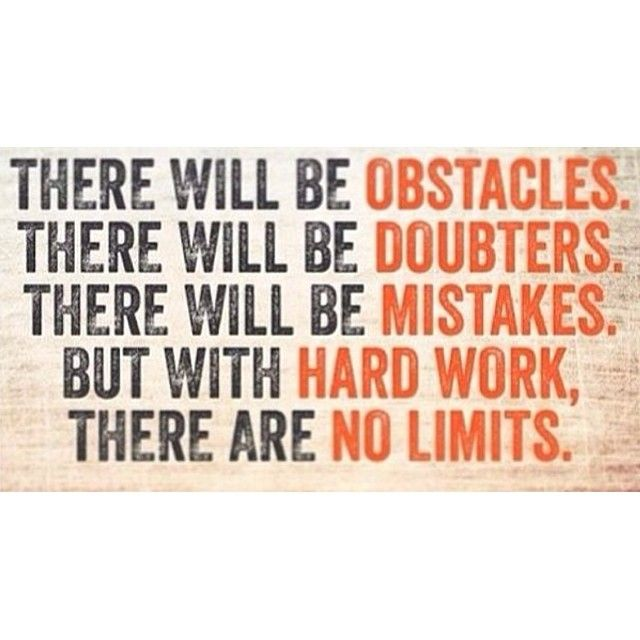 Hard Work Quotes Pinterest: Work Hard And Have No Limits! #motivation #quote