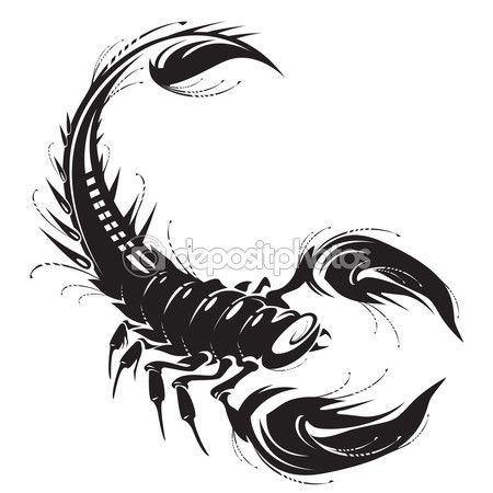 Скорпион — стоковая иллюстрация #67136691