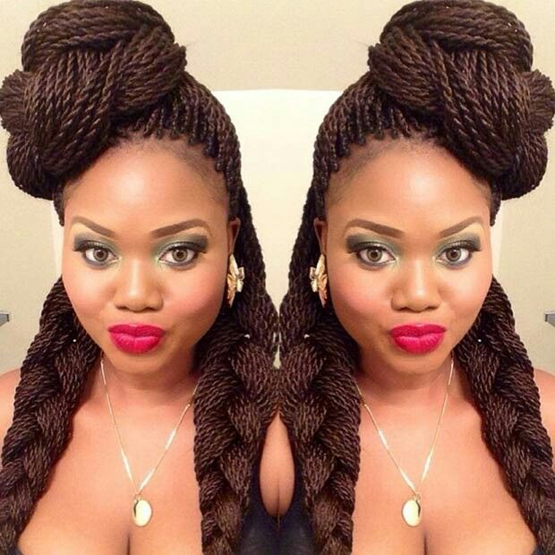 Cool 1000 Images About Natural Braid Styles On Pinterest Protective Hairstyles For Women Draintrainus