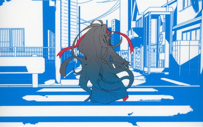 Download wallpapers Azami, 4k, art, anime characters, manga, Kagerou Project