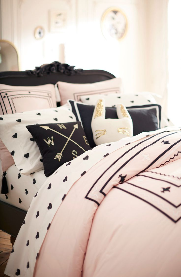 1000 ideas about black bedding on pinterest black bedding sets red and black bedding and red - Cute teenage girl bedding sets ...