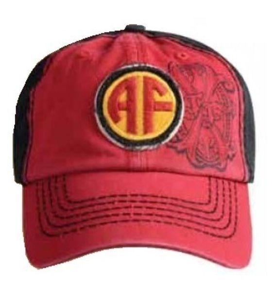 Arturo Fuente Red Embroidered Logo Baseball Cap  #ArturoFuente #900120