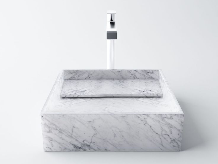 INCLINIO - filodesign white marble sink