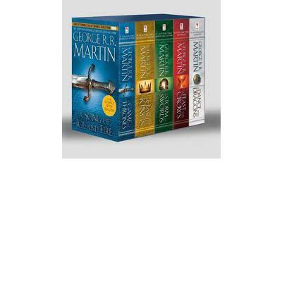 Game of Thrones 5-Copy Boxed Set Books By George R. R. Martin