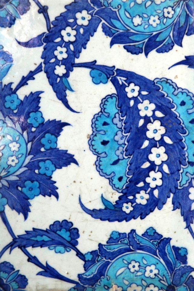 Iznik Tiles, Rustem Pasha Mosque, Istanbul, Turkey Photographic Print at AllPosters.com