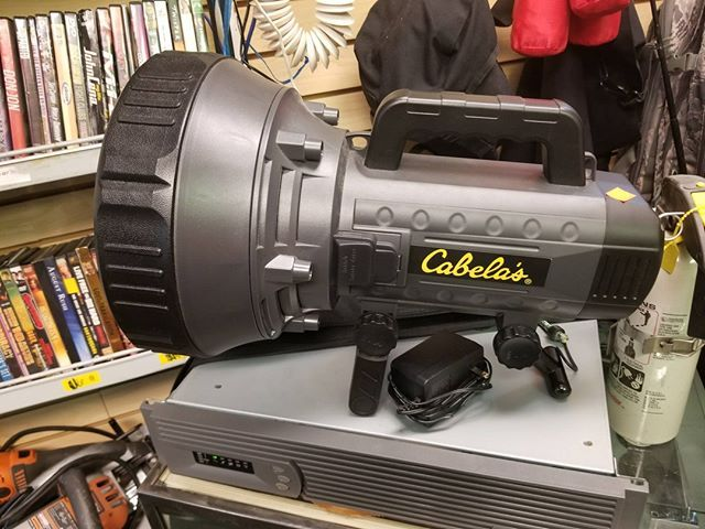 Cabela S 20 Million Candlepower Flashlight With Charger On Sale Now 55 Flashlight Cabelas Charger