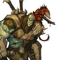 """Illustration for the role playing game """"Drakar och Demoner"""""""