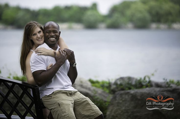 Rayon & Jamee's Engagement Photo Session at Adamson Estate