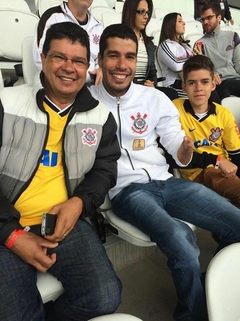 Daniel Dias realiza sonho e conhece arena do Corinthians em dia de vitória #globoesporte