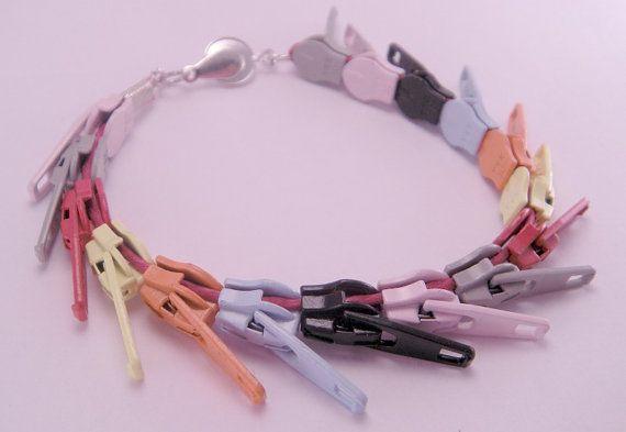 $22 takes 16 zippers Rainbow Bright Zippity Doo Dah Zipper 7.5 Inch by luv4sams on Etsy