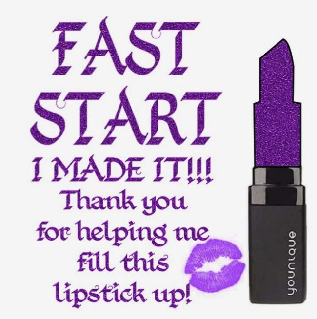 I hit Fast Start Bonus! ⭐️ Thank you for helping me reach this goal! #Younique #ClickImageToShop #Questions #EmailMe sarahandbrianyounique@gmail.com or #CommentBelow