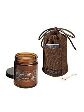 wood smoke joya candle by pendleton woolen mills   Kiss & Makeup