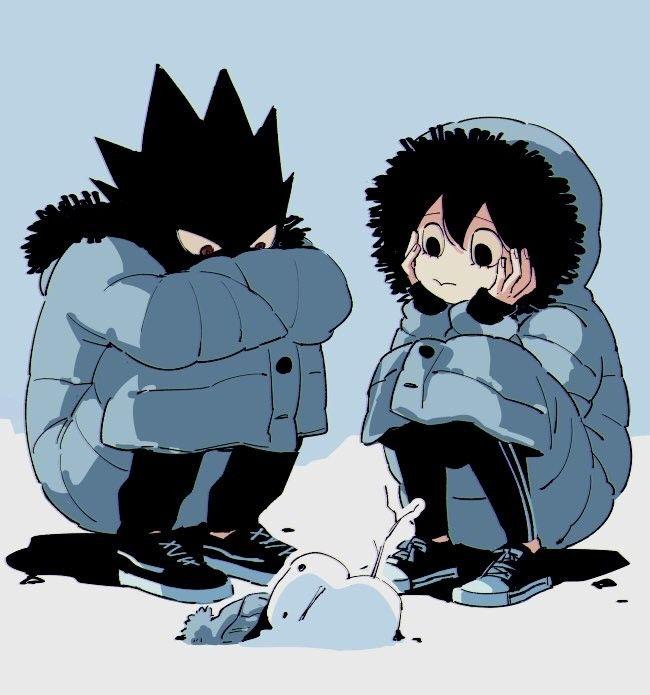 My Hero Academia - Tokoyami & Asui | BNHA | Tokoyami boku no