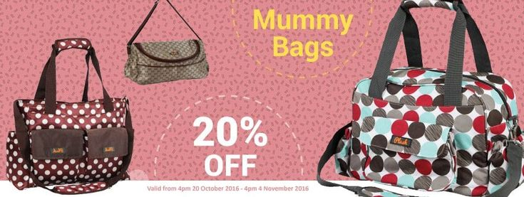20% Off Mummy Bags @ Baby Online - Bargain Bro