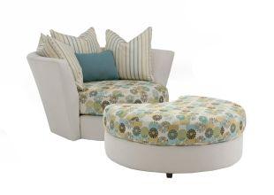 Decor-rest Fabric nesting chair 2224 UrbanCabin Decor