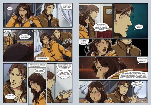 Frostbite: A Graphic Novel preview