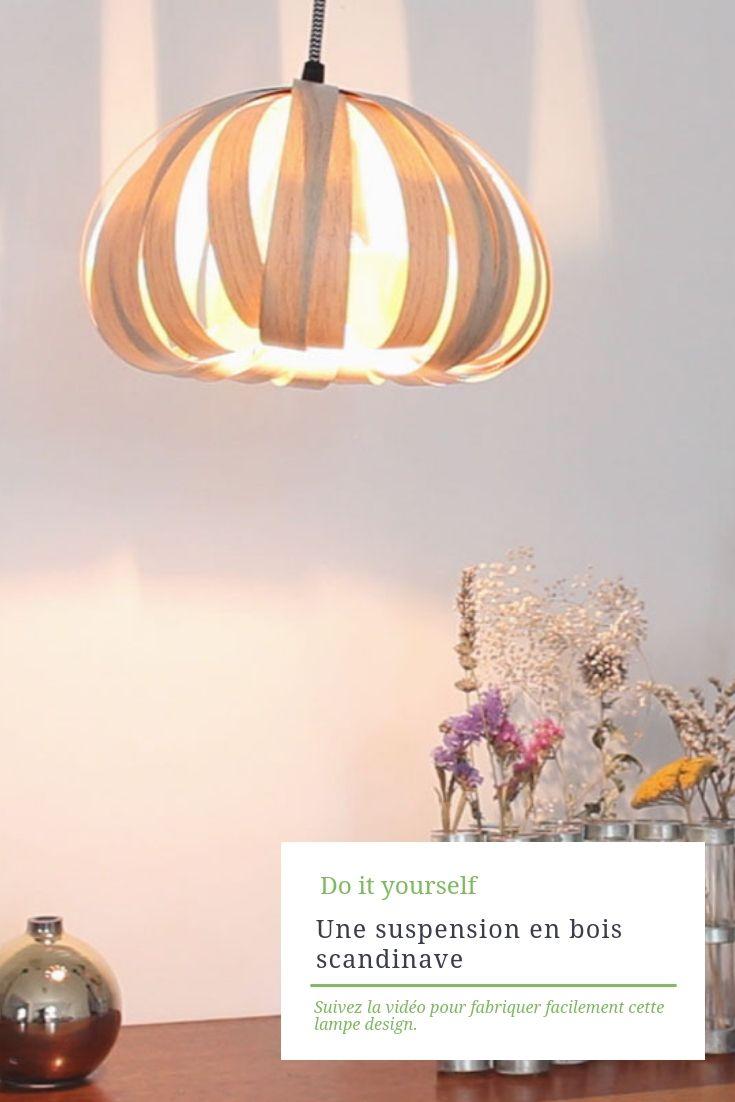 je fabrique une lampe design tout seul ! | diy | pinterest | diy