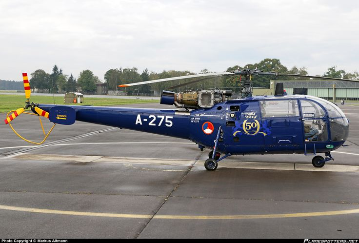A-275 Royal Netherlands Air Force Aérospatiale SA 319 Alouette III