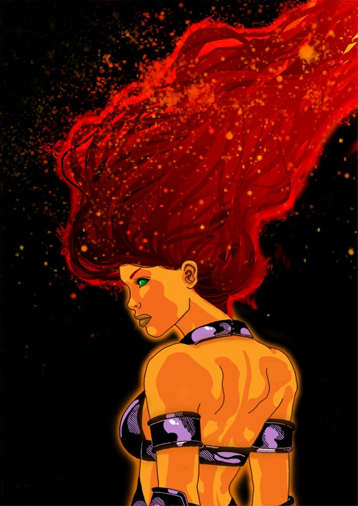 121 best images about Starfire on Pinterest   Dc rebirth ...