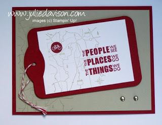 Julie's Stamping Spot -- Stampin' Up! Project Ideas Posted Daily: May 2011