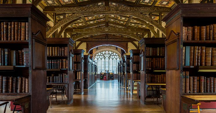 Summer House Ideas Interior >> If you ever wanted to stroll around the Hogwarts library, this is ... | Hogwarts library ...