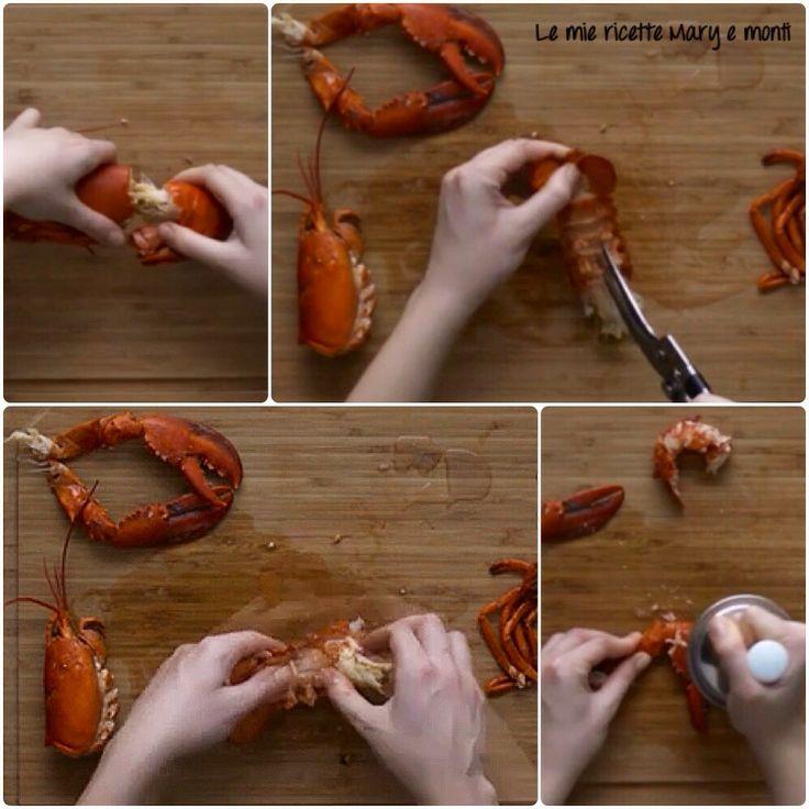 Calamarata rucola, astice e Datterini-tutorial