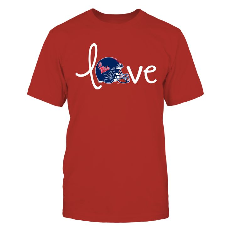 Love Ole Miss T-Shirt, Ole Miss Rebels Official Apparel - Wear Your Pride!  The Ole Miss Rebels Collection, OFFICIAL MERCHANDISE  Available Products:          Gildan Unisex T-Shirt - $25.95 Gildan Women's T-Shirt - $27.95 District Men's Premium T-Shirt - $27.95 District Women's Premium T-Shirt - $29.95 Next Level Women's Premium Racerback Tank - $29.95 Gildan Long-Sleeve T-Shirt - $33.95 Gildan Fleece Crew - $39.95 Gildan Unisex Pullover Hoodie - $49.95       . Buy now…