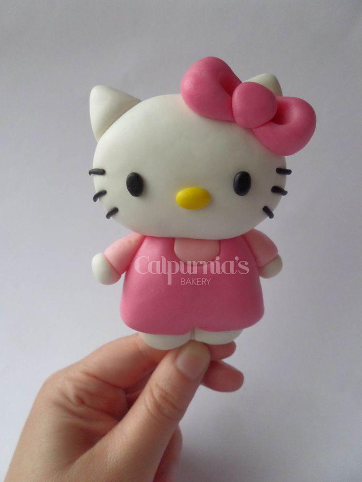 Hello Kitty fondant topper