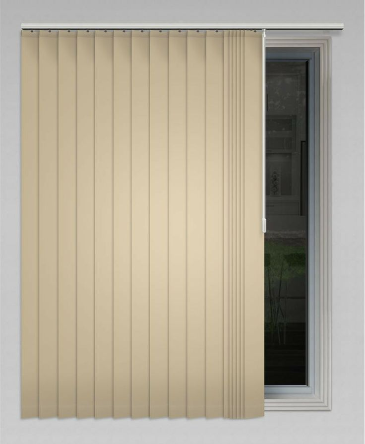 Yes Vibe 89mm (Blockout) Vertical Blind - Available in 19 colours! #vertical #blinds