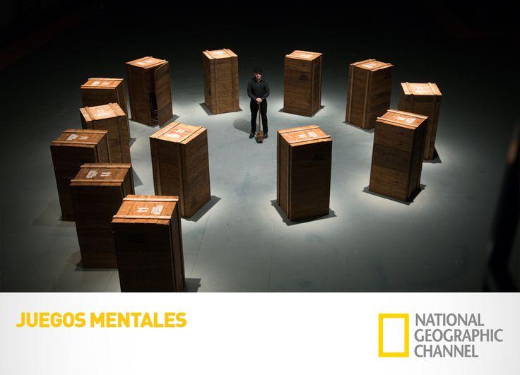 Explora el funcionamiento del cerebro y sorpréndete con los trucos que ponen a prueba las capacidades de tu mente. Juegos Mentales. Domigo 1, 9PM / 8.30PM VE / 8 PM PE. #Cerebration www.natgeo.tv/juegosmentales