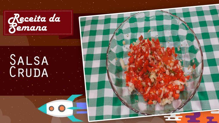 Ingredientes: Tomate uva      ½ Cebola      1 Jalapeño      1 dente de alho     Meio limão espremido      Uma pitada de orégano      Uma pitada de sal e coentro    Dica – Caso fique muito ácido, pode jogar uma pitada de açúcar
