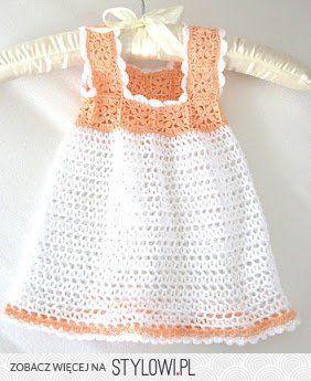 niño / ganchillo / vestido para una chica en Stylowi.pl