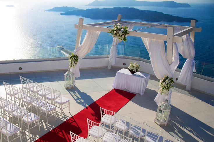 Ocean Wedding Santo Winery Wedding Venue | Santorini Wedding Venues & Locations