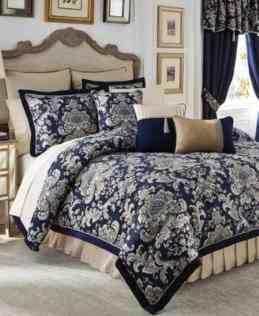 galaxy sets d printed cloud quilt comforter reversible piece set fullqueen u2026 items navy blue and