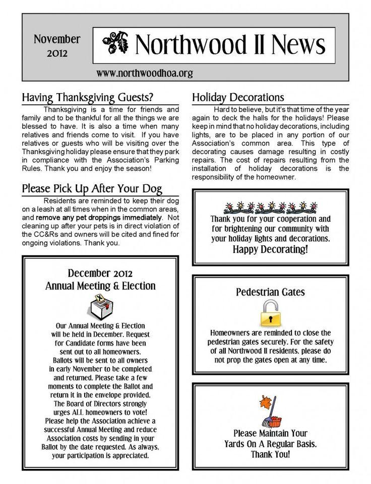 ginger snaps thanksgiving newsletter